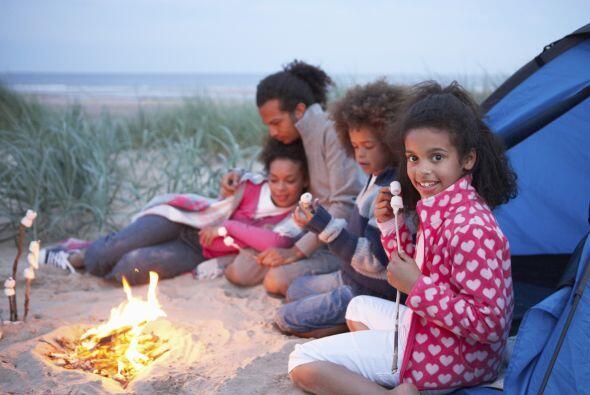 Compartir un 'camping' familiar puede ser un recuerdo imborrable para to...