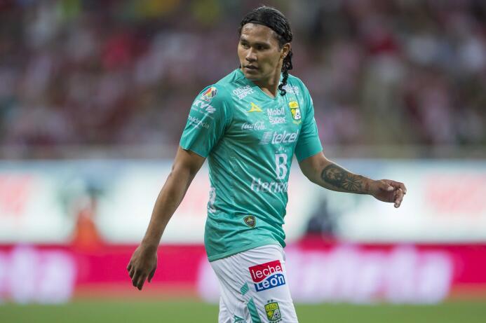 El 'Gullit' Peña, a préstamo en el León desde las Chivas, ya ha...