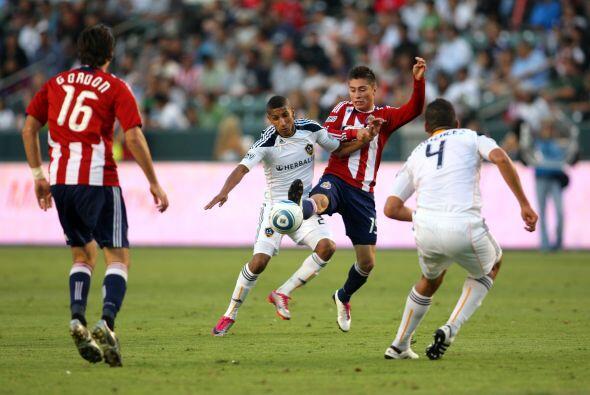 Chivas USA (25 puntos), sufrió tres derrotas al hilo y cuatro de cinco.
