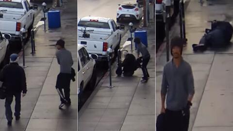 Ataque contra un anciano en el sur de California.