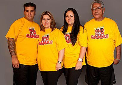 Los Yepes están conformados por Santiago, Nelly, Samara y Don Pedro, qui...