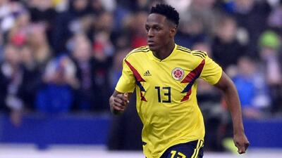 Yerry Mina ve a Colombia en la final de Rusia 2018
