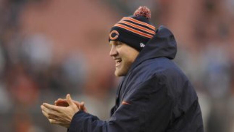 Josh McCown no sabe si regresará con los Bears (AP-NFL).