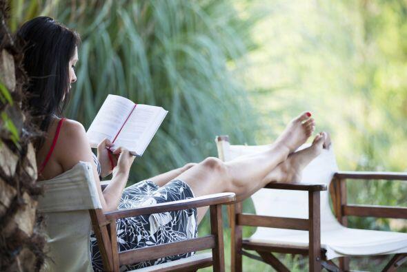 'Relax and enjoy'. Está bien que te ocupes de armar un espacio a tu medi...