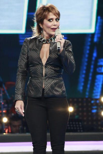 Alejandra Guzmán, muy coqueta.