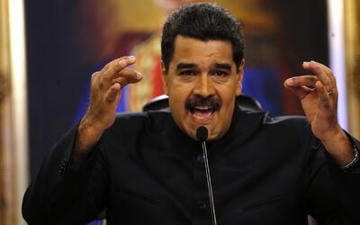 """Maduro manifiesta que detendrá a autores del """"ataque terrorista"""" y al he..."""