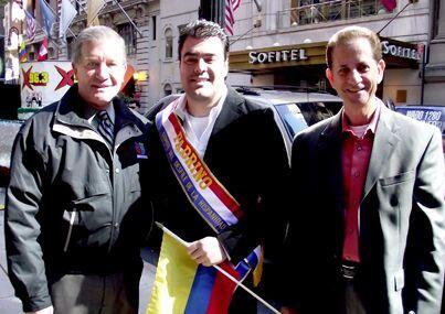 Alex Roland fue nombrado el Padrino del Desfile de la Hispanidad. A la...