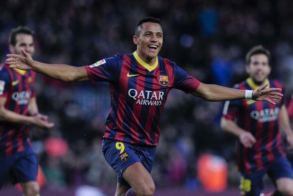 Alexis ponía el 4-0, además de que lo hacía logrando un triplete.