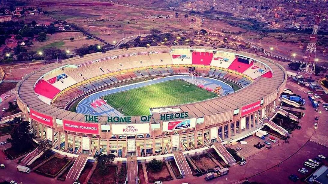La renovación del Moi International Sports Centre, en Kenya, fue financi...