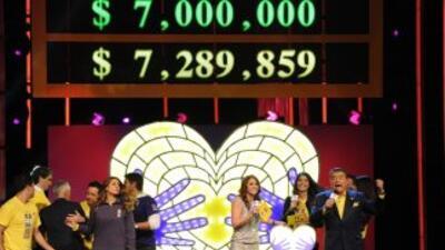 Se superó por un millón la meta original de $7 millones.