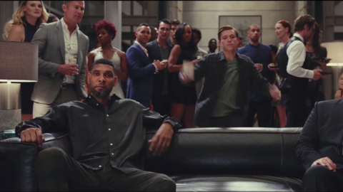 Tim Duncan makes a cameo in Spider-Man: Homecoming trailer