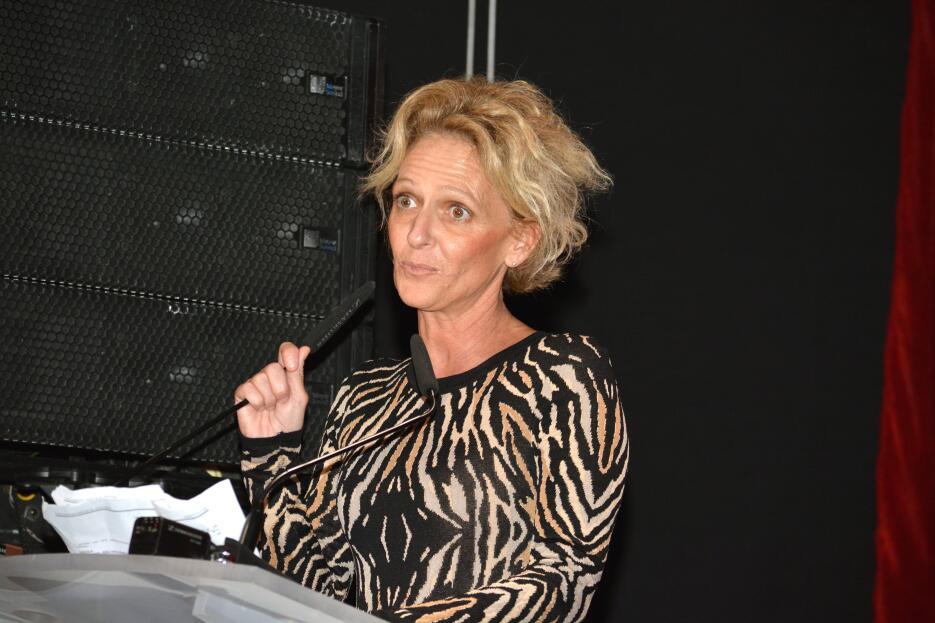 Nathalie Lartilleux, productora de telenovelas.