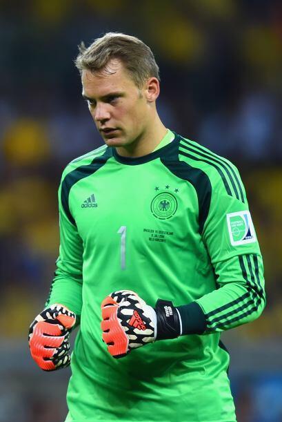 Manuel Neuer podría ganar el Guante de Oro del Mundial de Brasil 2014, g...