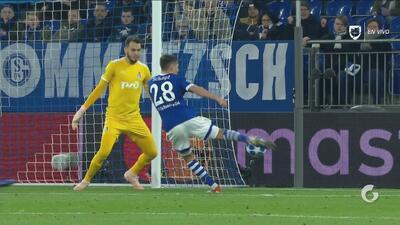 En el último minuto, Schoepf anota para el Schalke y deja último al Lokomotiv
