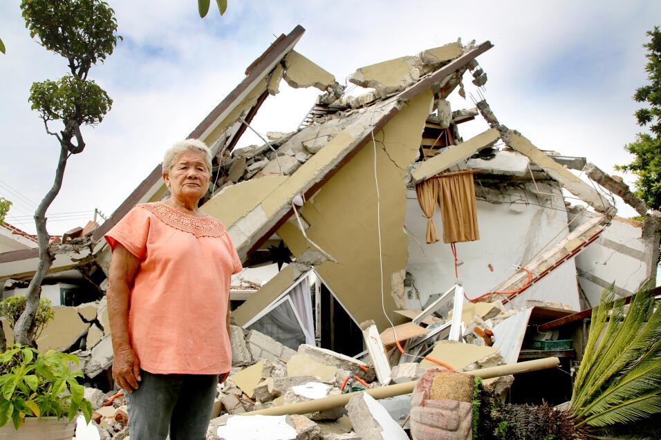 La casa de Jojutlan donde vivía María Guadalupe Barrios Be...
