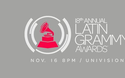 Los premios Latin Grammy serán el próximo 16 de noviembre...
