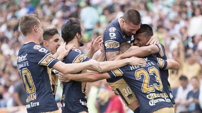 En fotos: Pumas derrotó 2-1 a Santos de visita y cada vez está más cerca de la Liguilla
