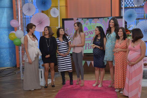 Cristy no podía faltar en el Baby Shower de Ana, Michelle y Giulietta se...