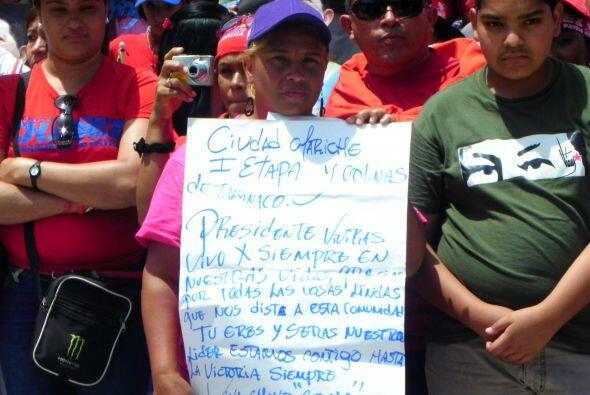 Así reaccionó Caracas a muerte de Chávez