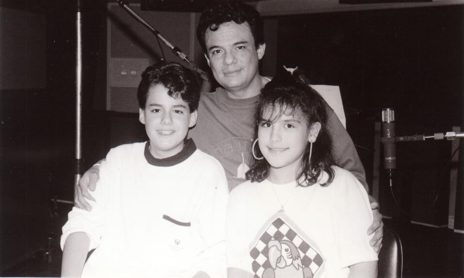 Angélica Vale con José Sosa y el papá de ést...