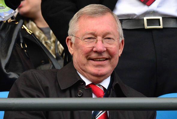 El histórico Sur Alex Ferguson no se podía perder este encuentro.