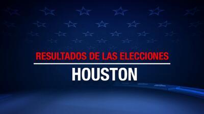 Resultados Elecciones Houston