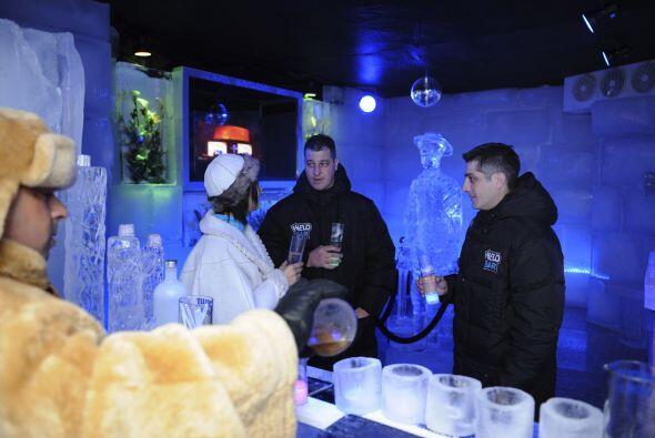 En el novedoso bar se podrán disfrutar las bebidas a seis grados bajo cero.