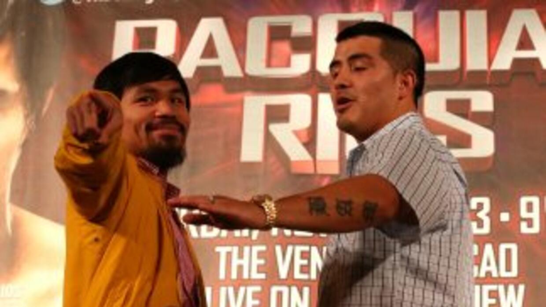 Manny Pacquiao y Brandon Rïos prometieron dar una buena pelea el 23 de n...