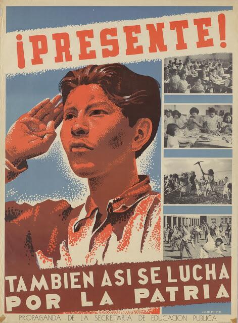 21 carteles anti-nazis creados en México Tambien Asi se lucha Por La Pat...