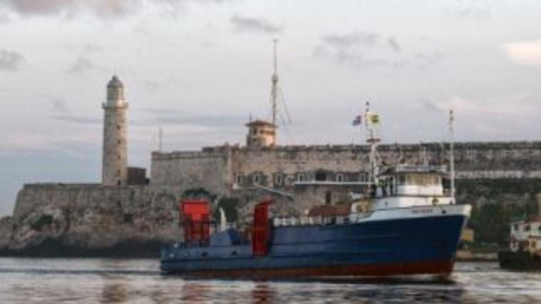 El barco tenía programada su llegada a la capital cubana el jueves. Sin...