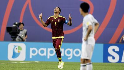 Venezuela hace historia en el Sub-20 y se mete en cuartos de final tras vencer a Japón