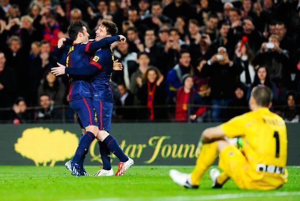 En la fecha 28 de España, Lionel se lució con dos tantos y una asistenci...