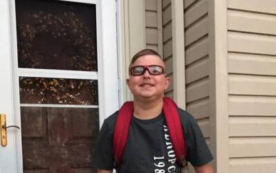 El niño Peyton West, de 13 años, murió el jueves, s...