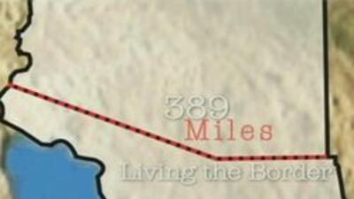 Frontera donde la pelicula fue documentada