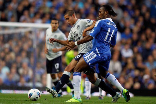 Por otra parte, Chelsea se midió al Everton y lo resolvió sin problemas.
