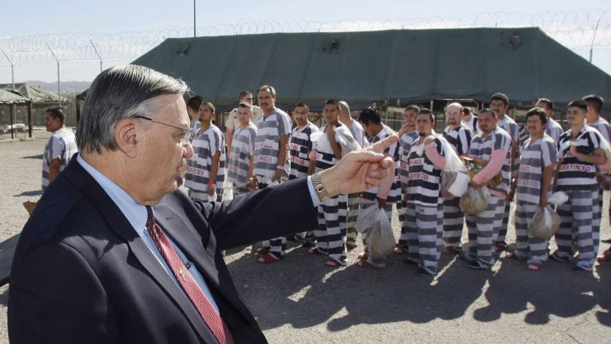 Former Maricopa, Arizona mayor, Joe Arpaio