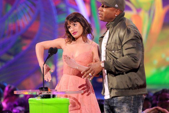 Lea Michele presentó una terna. Mira aquí los videos más chismosos.