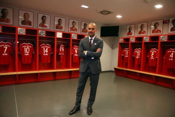 Pep espera cumplir con las expectativas que el Bayern Múnich pone sobre él.
