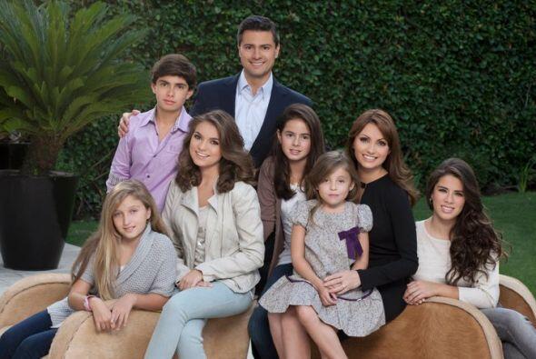 Aseguran que su numerosa familia convive en armonía. (Foto tomada de Fac...