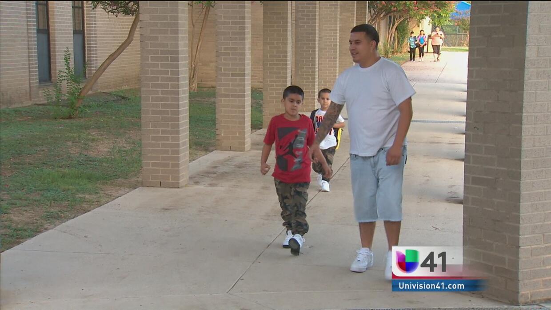 Primer día de clases en South San Antonio