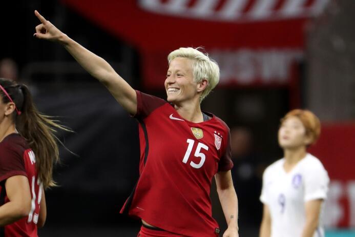 7. Megan Rapione (Estados Unidos / Seattle Reign F.C) - 19 puntos