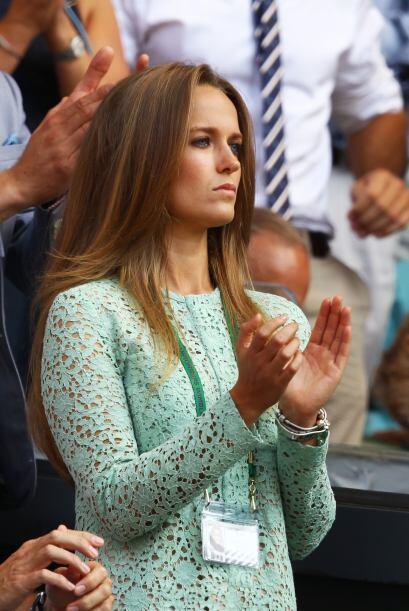 La novia de Murray, Kim Sears, con los nervios al tope.