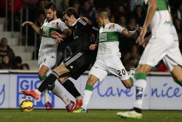 El Elche sufrió para detener a la maquinaria del Real Madrid, y lo logró...