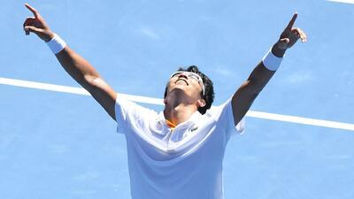 Histórico: Hyeon Chung es el primer coreano semifinalista en el Abierto de Australia