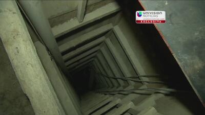Imágenes exclusivas del túnel por el que escapara El Chapo