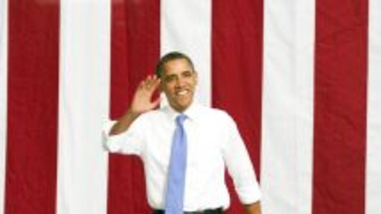Barack Obama busca fondos para su campaña de 2012.
