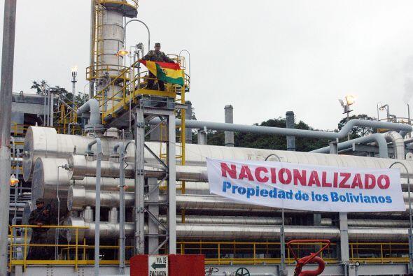Entre las empresas extranjeras que operaban en Bolivia se encontraban la...