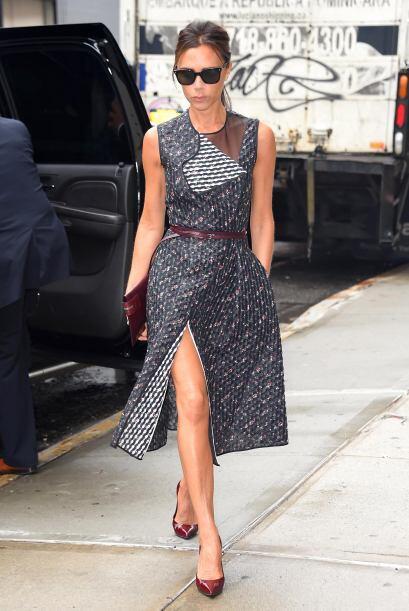 Son ideales para un vestido de 'cocktail', así como lo usa Victoria Beck...