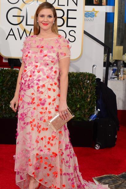Al parecer Drew Barrymore pone de pretexto el embarazo para ponerse cual...