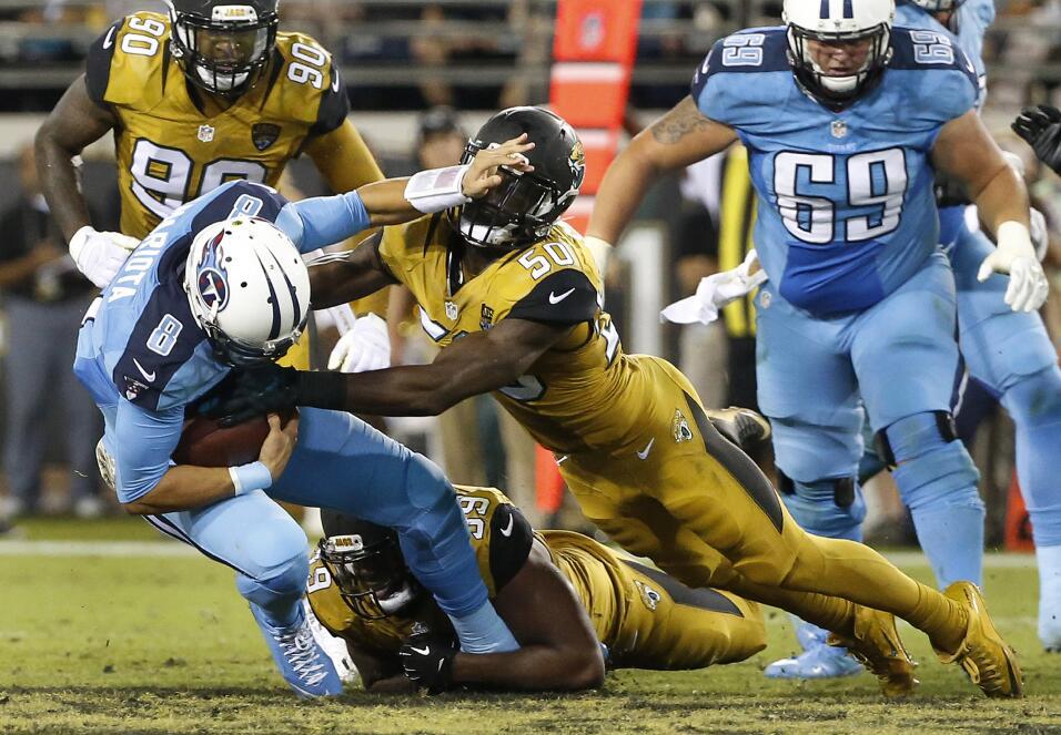 Las mejores imágenes del Titans - Jaguars